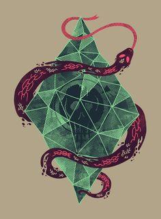"paganlovefest: "" Hector Mansilla - Mystic Crystal """