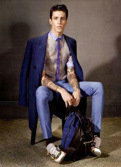 Lanvin Fall/Winter 2013 Menswear Campaign