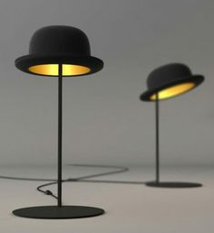 amazing 57 unique creative table lamp concepts 57 unique table lamp designs with black hat black hat unique lighting