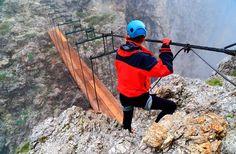 The Dolomites via ferrata - World's 10 Best Via Ferrata Routes | Fodor's Travel