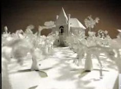 Animation Reference: Playful, non-literal, paper landscape