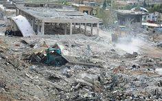 """2013 - 6 de Mayo: ONU expresó su preocupación por ataques en Siria y pidió calma - El secretario general de la ONU, Ban Ki-moon, expresó el domingo su inquietud por los informes que señalan que Israel atacó objetivos dentro de Siria, pero dijo que Naciones Unidas no ha podido confirmar si esos ataques tuvieron lugar.    """"El secretario general expresa su profunda preocupación por los informes de los ataques aéreos en Siria por parte de la Fuerza Aérea de Israel"""", dijo la oficina de prensa de…"""