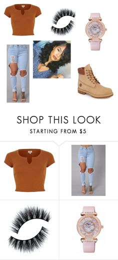 """Pretty girl wit a pretty mind"" by aerionnaaa ❤ liked on Polyvore featuring Chopard and Timberland"