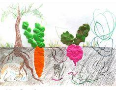 Diy For Kids, Crafts For Kids, Fruit Crafts, Plasticine, Play Dough, Vegetables, Crafts For Children, Kids Arts And Crafts, Veggie Food