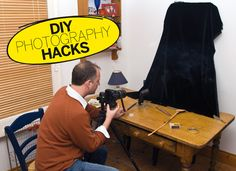 DIY Photography Hacks: make a table-top studio for easy still life photography