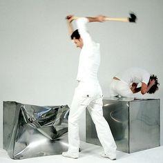 Droog Do Hit Chair_Marijn VAN DER POL_cube à façonner soi même, masse fournie avec le cube
