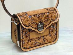 Hand tooled Handbags