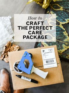 There's more to creating a care package than just stuffing a box with food.