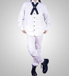 White School Uniform Shirt Japanese School Uniform, Uniform Shirts, Cosplay Costumes, Chef Jackets, School Uniforms, Coat, Fashion, Moda, Fashion Styles