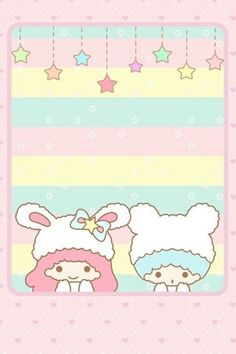 Image via We Heart It https://weheartit.com/entry/143438076/via/8730732 #sanrio #twinstars