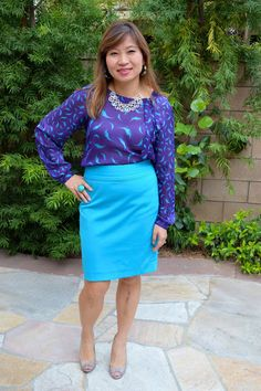 Happiness at Mid-Life: Purple & Turquoise