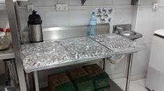 Ãrea de preparo de doces - Confeitaria.