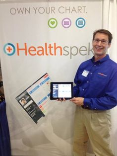 """Great EXCITEMENT about Healthspek today at The Chamber's Business Expo in Springhill, TN.       Take control of your health today! Join the e-Patient revolution and download Healthspek now! Own your chart, know your options, achieve better health.     https://itunes.apple.com/us/app/healthspek/id576488481?mt=8   Follow us on Facebook! Http://www.facebook.com/healthspekapp  Check Out Our Website! http://www.healthspek.com  """"personal health record"""""""