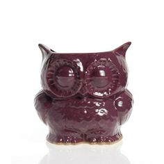 Owl Planter Small Purple, $34, now featured on Fab.