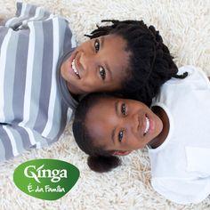 """""""Dica para o look do dia: Capricha na educação, personalidade, carácter e simpatia.""""  Ginga – a marca da família angolana"""