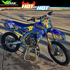 Hot or not? Yamaha build by markfreeman408 #hotornotmx #dirtbike #dirtbikes…
