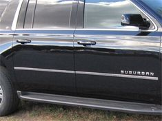"""Awesome Amazing Fits 2015-2016  CHEVROLET SUBURBAN 4-door, SUV (1"""" Width)-Stainless Steel MOLDIN 2018"""