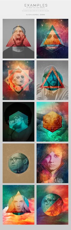 Hipster Photo Template V.2 by Zeppelin Graphics on Creative Market