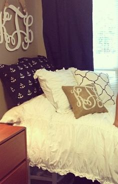 Anchors and monograms