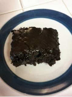 Mayonaise Cake (This picture is made with Hershey's Dark Chocolate Cocoa)