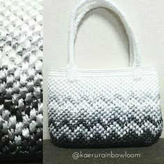 Images about #スズランテープ tag on instagram Plastic Shopping Bags, Plastic Bags, Crochet Clutch, Crochet Bags, Tapestry Bag, Summer Bags, Clutch Purse, Straw Bag, Diy And Crafts