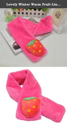 Lovely Winter Warm Fruit-Line Scarf Strawberry Scarf For Girls(Rose Red). Ships from Hongkong. Please carefully select the correct size of products for your kids. For ages: 1-13 years old. Material: Wool warm and comfortable soft. Length: 60cm(includes)-80cm(free). Season: Winter. Worn methods: cross from one side of the hole through the other side of the scarf is easy to use and stylish cute. Fully keep your kids warm. This cute Fruit-Line Scarf contains 6 different patterns and colors…