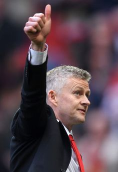 Ole Gunnar Solskjaer, Interim Manager of Manchester United acknowledges the fans after the Premier League match between Manchester United and Liverpool FC at Old Trafford on February 2019 in. Get premium, high resolution news photos at Getty Images Manchester United Club, Manchester England, Barcelona Soccer, Fc Barcelona, Mia Hamm, Alex Morgan Soccer, Soccer Girl Problems, Premier League Matches, Soccer Sports