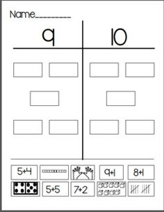 Most Math Sheets for Daily 5 Math: Freebies