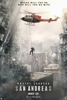 New poster for Dwayne Johnson's San Andreas 2015 Movies, Top Movies, Great Movies, Movies And Tv Shows, The Rock Movies, Carla Gugino, Alexandra Daddario, Love Movie, Movie Tv