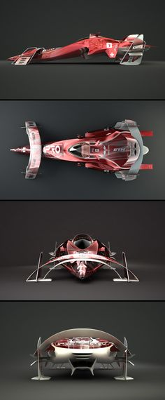 Concept design for Harald Belkers Pulse Racing by Deaksigns