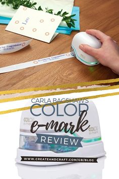 If you're not sure why this revolutionary little handheld printer is making waves in the crafting world, then check out the fabulous Carla Bagshaw's personal review of the COLOP e-mark, and learn exactly why she's fallen in love with it! Making Waves, Create And Craft, Easy Crafts, Printer, Diy Home Decor, Crafting, The Incredibles, Learning, My Love