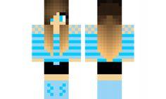 minecraft skin Different-Blue-girl