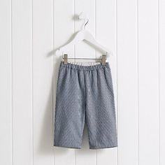 Baby Boys' Stripe Trousers | The White Company