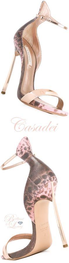 Brilliant Luxury by Emmy DE ♦ Casadei Leopard Print Sandals