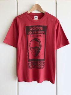 398735e8c3a55 メルカリ商品: 【美品】アディダス/adidas『115周年記念Tシャツ』レッド/L/完売希少品 #メルカリ#アディダス#adidas #Tシャツ# アディダスラー #ADIDASSLER#コラボ# ...