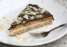 Mandľová torta v štýle Ikea - Recept Dessert Recipes, Desserts, Ikea, Tiramisu, Cheesecake, Food And Drink, Gluten Free, Ethnic Recipes, Fitness