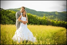 Love the golden field - love the setting. John and Alyssa Webster (Photography by Britton)