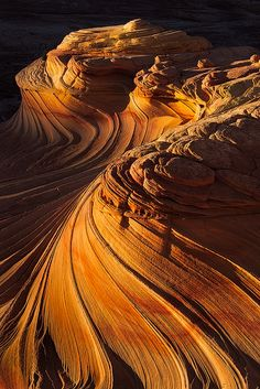 The Second Wave, Coyote Buttes North by Yanbing Shi on Flickr.