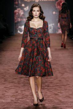 TEATIME DRESS<br/>winter rose