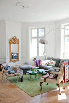 love this pretty living room