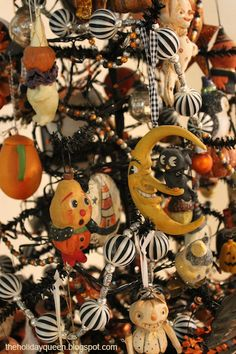 Halloween Tree Ornament Collection