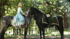 Cinderella Pink Dress, Cinderella 2015, Lily James, Horses, Disney, Animals, Photograph, Cinderella, Photography