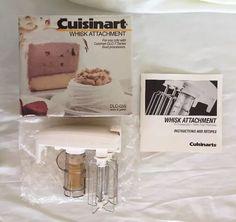 Cuisinart Whisk Attachment For DLC-7 Food Processor DLC-055 Whip Egg Whites Etc #Cuisinart