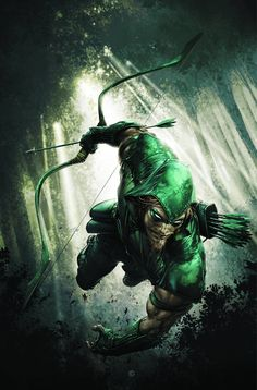 Okay not Robin Hood but the Green Arrow .  But they both fight injustice except the GA donates to the poor because he can afford to