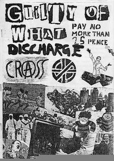 Histoire & Graphisme: 70 - Diverses affiches PUNK