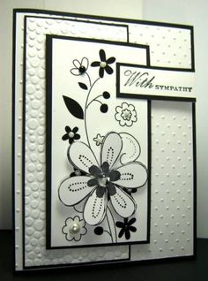 Sympathy Blooms by Cards_By_America - Cards and Paper Crafts at Splitcoaststampers