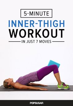 This 5 minute workout combines cardio and strengthening moves to target your inner and outer thighs instantly — your upper legs are guaranteed to be on fire by the end.