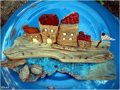 Driftwood, Diy, Painting, Bricolage, Drift Wood, Painting Art, Diys, Paintings, Handyman Projects
