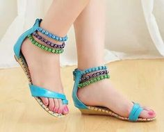 e158be937e52c Trendy Flat Sandals 2014 for Women Fancy Shoes girls Trends