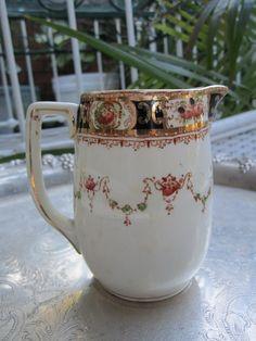 Antique English Made Melba Ware Porcelain Creamer Milk Jug